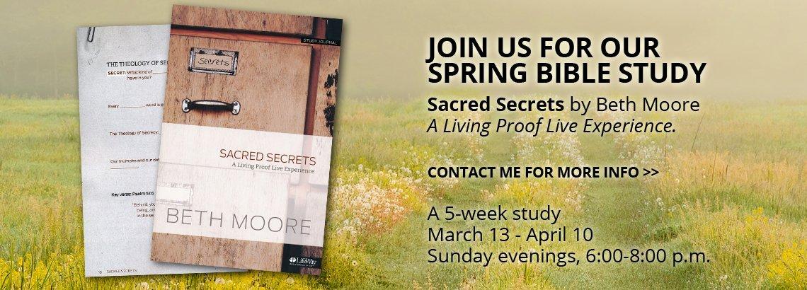Sacred Secrets Bible Study