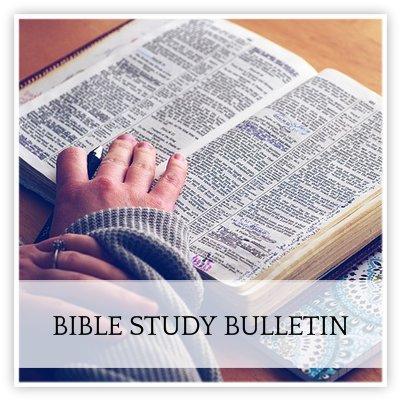 Bible Study Bulletin