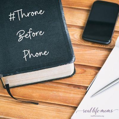 #Throne Before Phone